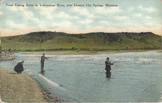 Fishing Hunters Hot Springs