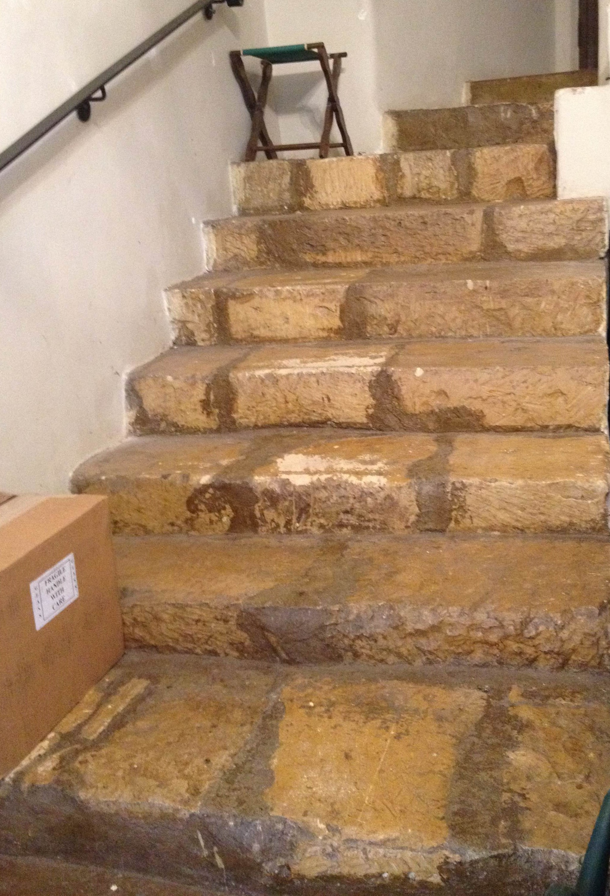Steps to Little Pulpit
